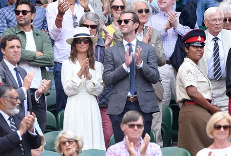 Pippa Middleton Attends Wimbledon Semifinals in $294 ...