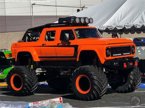 monster truck show in las vegas sema2017 truck yeah the tide has changed in las vegas
