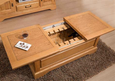 canapé angle taille acheter votre table basse fonction bar chene massif chez