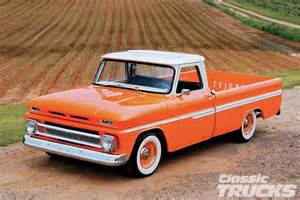 1966 Chevy C10 Truck Orange
