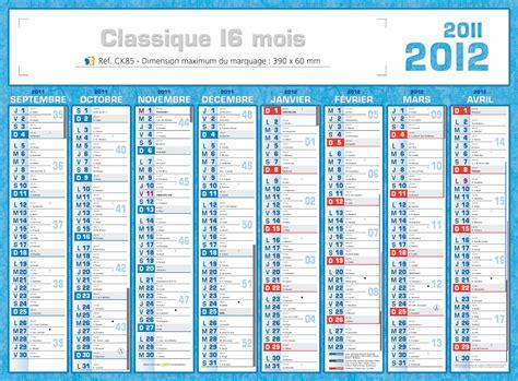 caisse d calendriers de banque publicitaires 2012