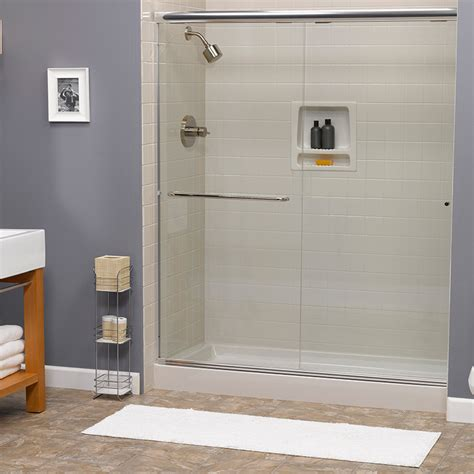shower stall kits momdad bathroom ideas on walk in shower