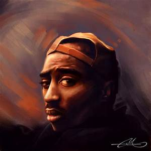 2pac Shakur by EthanMichaeL on DeviantArt