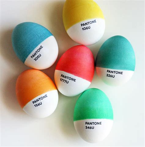 cool easter egg ideas 1 pantone easter eggs