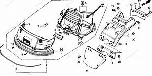 Honda Scooter 1985 Oem Parts Diagram For Rear Turn Signal