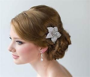 Crystal Bridal Hair Clip Wedding Hair Accessory Wedding