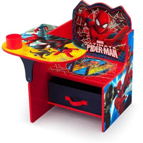 delta children chair desk delta children spider man chair desk with storage bin