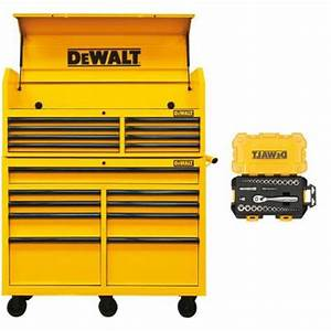 "52"" Dewalt Tool Chest Top and Bottom $200 03 HD Extreme"