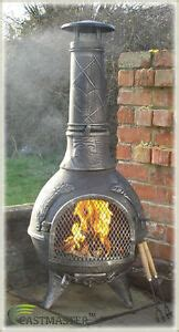 Metal Chimineas For Sale by Castmaster Aztec Cast Iron Chiminea Chimenea Chimnea Patio
