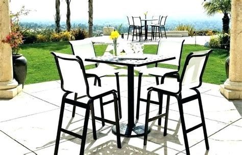 Cheap Patio Table Set by High Top Bistro Patio Set Engaging Plastic Table Cheap