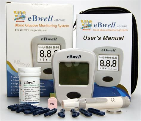 diabetic health aid tester blood glucose sugar monitor kit