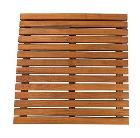 diy removable cedar shower floor mat teak shower mat