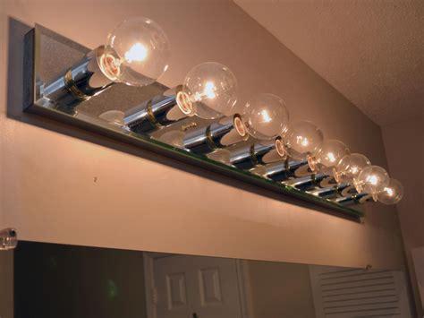 replace  bathroom light fixture  tos diy