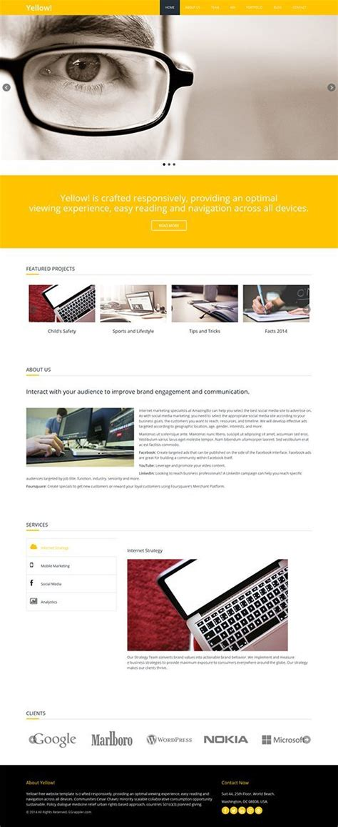 Html5 Wireframe Template by Responsive Html5 Template For Free