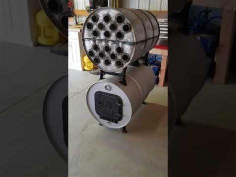 double barrel shop stove youtube