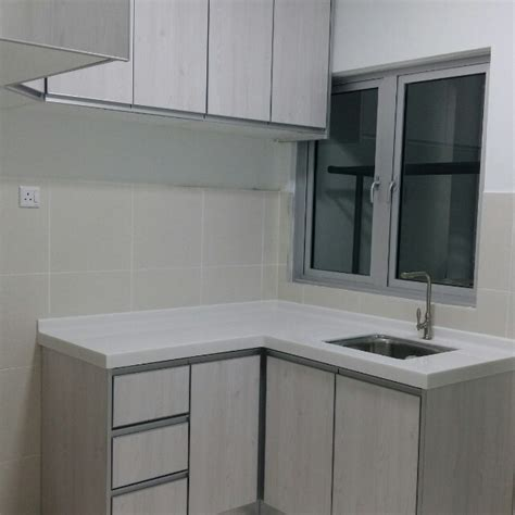 contoh kabinet dapur apartment