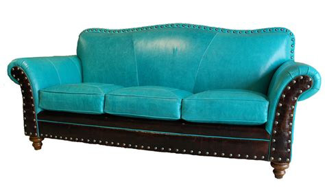 albuquerque turquoise leather sofa western sofas and