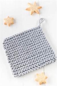 Wolle Für Topflappen : einfache topflappen stricken handmade kultur ~ Watch28wear.com Haus und Dekorationen