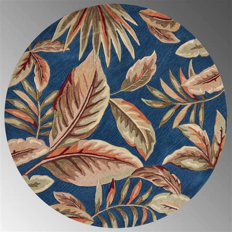 Mazo Tropical Frond Area Rugs