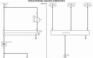Wiringdiagrams  Horns Fuel Pump Cooling Fans Wiring Diagram For 1994