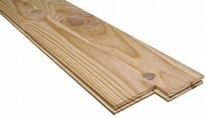 Planche De Pin Brut : plancher en pin maritime noueux brut l 2 m x l 14 cm x p 21 ou 23 mm brico d p t ~ Voncanada.com Idées de Décoration