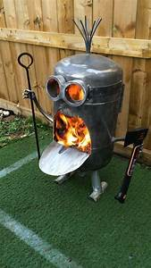 Awesome Homemade Metal Fire Pit Best 25 Metal Fire Pit ...