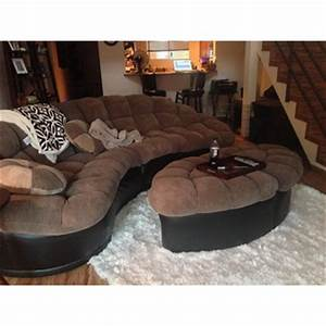 papasan two piece sectional sofa overstockcom shopping With papasan two piece sectional sofa