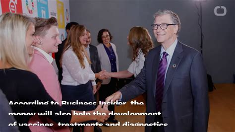 The Gates Foundation To Donate $100 Million To Fight The ...
