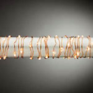 martha stewart led christmas lights warm white crystal c3 martha stewart living 10 ft 60 light warm white copper lights 9773100140 the home depot