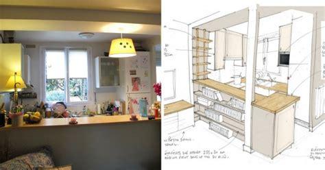 cuisine ouverte 5m2 comment optimiser duune cuisine ouverte