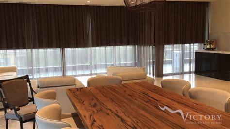 shades and drapes motorised sheer curtains roller blinds