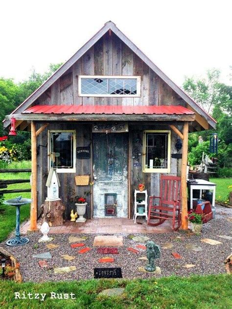 Shed From Recycled Materials by Shed Made Fri Recycled Materials Inspiring Ideas