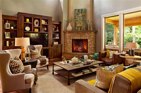 Living Room Corner Decoration Ideas by 17 Corner Fireplace Designs Ideas Design Trends