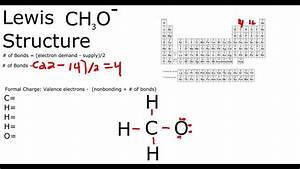 Ch3o- Lewis Structure