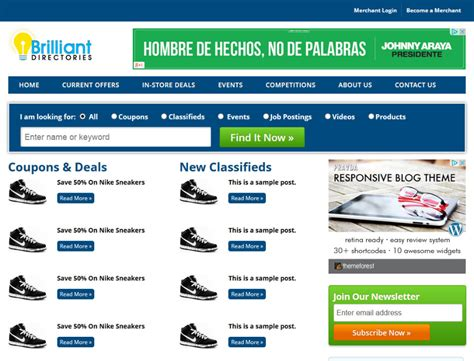 Business Directory Templates