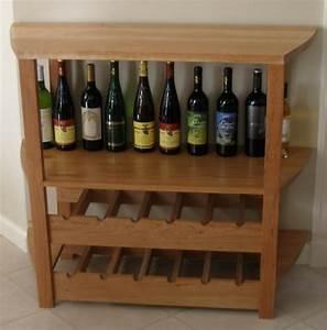 Wooden Wine Rack Cabinet - [peenmedia com]