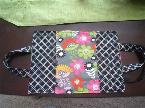 fabric kindle book cover  tote bag sewing  cut