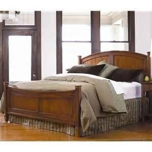 thomasville cinnamon hill king  post panel bed