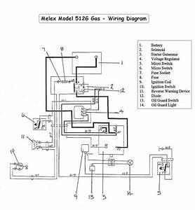 Yamaha Golf Cart Part Diagram Melex Wiring