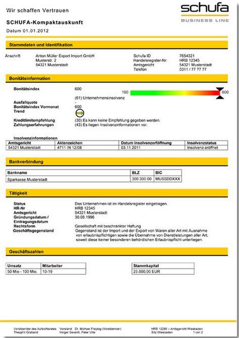 Schufa Auskunft Für Vermieter Kostenlos by Schufa Auskunft Kostenlos So Bekommen Sie Gratis Ihre Daten