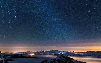 Night Starry Sky 4k