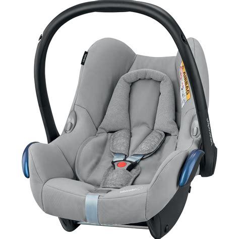 siege auto coque siège auto coque cabriofix nomad grey groupe 0 de bebe