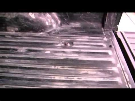 iron armor roll on and spray on truck bed coating from harbor freight intallation review