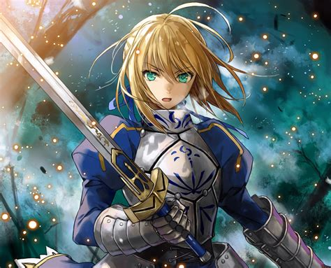 hd wallpaper saber fate stay night sword