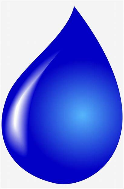 Water Drop Clipart Droplet Background Transparent Drawing