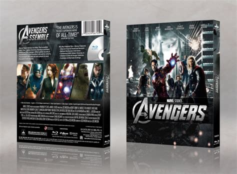 Marvel's The Avengers Movies Box Art Cover by MattStar