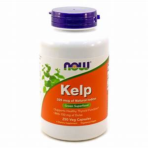 Gnc Kelp Iodine Reviews