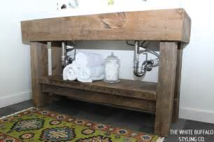 Rustic Bathroom Vanity Ideas Pinterest by Rustic Eclectic Master Bathroom Thewhitebuffalostylingco Com