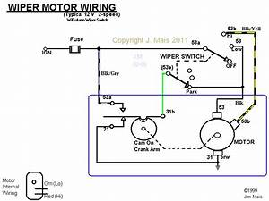 Marine Wiper Motor Wiring Diagram
