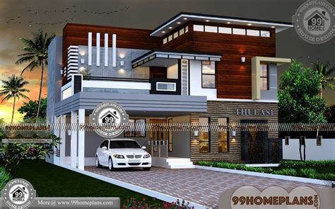 storey house design  terrace  contemporary modern homes